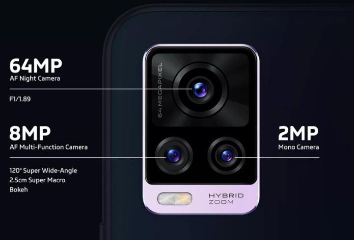 Cámaras Vivo V20 Pro 5G