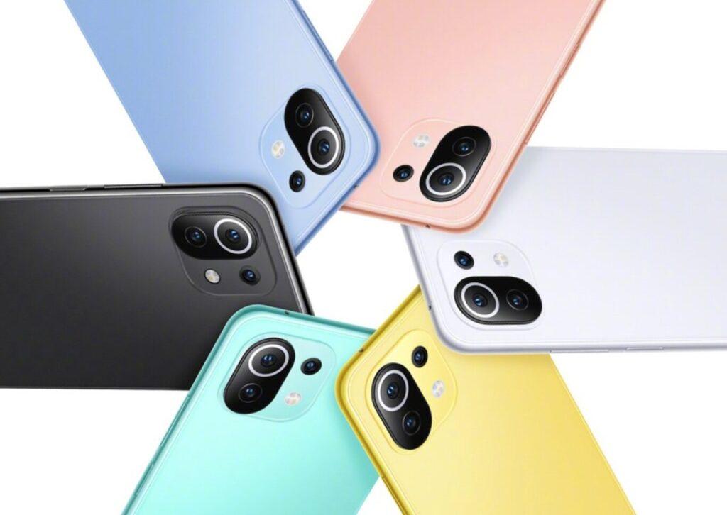 Smartphone Xiaomi Mi 11 Lite y Xiaomi Mi 11 Lite 5G